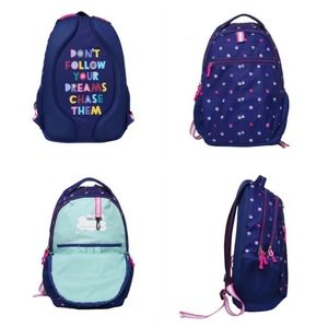 NWOT Cat & Jack 18″ Kids Backpack – Blue Dot